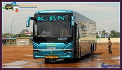 KPN KA-51-B-9993 From Madurai To Bangalore (divakar1452) Tags: kpn scania