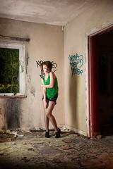 Becky Little (Darren Woolway ARPS) Tags: urban kent ruins exploring derelict dereliction