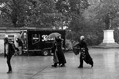 Aprilwetter (ingrid eulenfan) Tags: gothic wave leipzig le april regen wetter gotik 2016 wgt moritzbastei wavegotiktreffen gothicfestival wgt2016