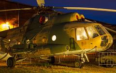 Vyslouil vrtulnk (Honzinus) Tags: chopper vrtulnk mil kbely praha echy esko aircraft heli army czech air force cef muzejn noc 2016 prague prg lkkb