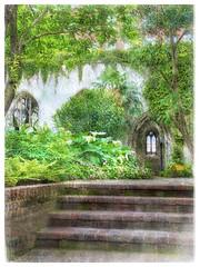 St. Dustan in the Garden, London (Solly Avenue) Tags: travel light painterly london gardens photomanipulation garden landscape ancient impressionism digitalphotoart ipadpainting ipadsketching painterlyapp