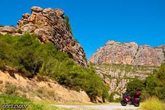 Barranc del Infern (DOCESMAN) Tags: road travel viaje honda landscape spain motorbike moto motorcycle biker motor rider pyrenees pirineos deauville nt700v