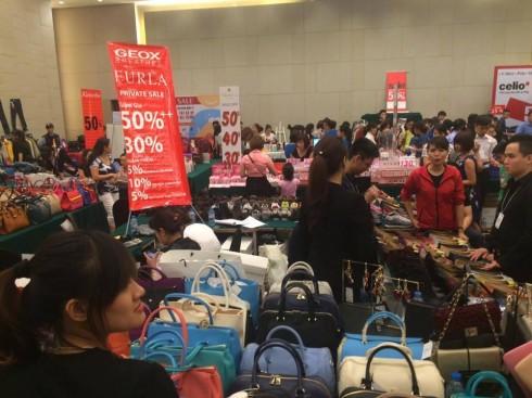 Ngày hội mua sắm ELLE Shopping Fun 2016 tại Hà Nội