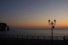 Silhouette (l'imagerie potique) Tags: sunset france silhouette normandie tretat coucherdusoleil poeticimagery limageriepotique