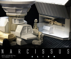 NARCISSUS31 (sith_fire30) Tags: sculpture building art scott miniature big model allen action alien aves ripley shuttle figure beast custom dayton diorama giger narcissus chap hrgiger prometheus sculpt styrene ridley xenomorph nostromo fixit sithfire30 covneant
