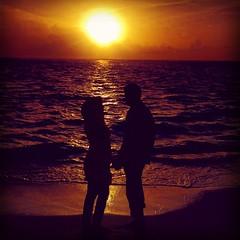 Let us always meet each other with smile. #sunset #sunrise #beach #ocean #colours #wedding #light #decoration #love #couple (ibrahimnaanu) Tags: ocean wedding light sunset love beach sunrise couple colours decoration