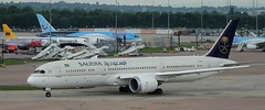 Boeing 787: 41546 HZ-ARC 787-9 Saudi Arabian Airlines Manchester Airport (emdjt42) Tags: manchesterairport dreamliner saudiarabianairlines 41546 boeing787 hzarc