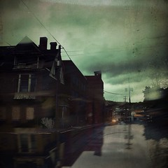 This town, is coming like a ghost town (BLACK EYED SUZY) Tags: street rain dark town decay dreary tadaa ghostown beatdown boomtown afterlight mextures