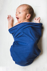 Happy baby (Gwen-Photographie) Tags: baby newborn