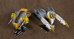 Ultima and Gryphon (Uspez) Tags: lego space stg starfighter