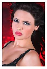(Pixel Lush) Tags: red portrait anna sexy beautiful beauty canon prime model glamour modeling headshot sensual belle l 5d canon5d bella brunette sensuality belleza bellesa 135mm bellisima sensualidad 135l alienbees primelens lglass 135mmf2 ab800 primeglass