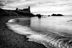 Dunure Castle (D Cation) Tags: scotland ayrshire dunure castle firthofclyde coast hightide wave action