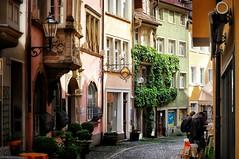 Streets of Lindau (StefanJurcaRomania) Tags: street facade germany bayern deutschland bavaria lindau facades bodensee germania