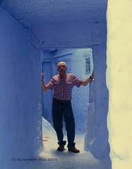 La tentacin de hacerme una foto...Chefchaouen-Marruecos. (lameato feliz) Tags: chefchaouen marruecos