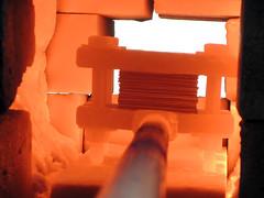 DSCN4206 (teddmcdonah) Tags: hammering bonding arizonastateuniversity 2016 mokumegane airhammer patterning metalsclub diffusing patternedmetals mokumeganeworkshop diffusionbondedmokume liquidphasediffusionbonding