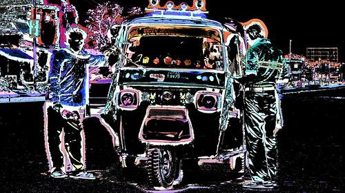 India - Uttar Pradesh - Kushinagar - Auto Rickshaw - 24b