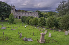 St Andrew's Church, Aysgath (Rich3012) Tags: uk england church graveyard st andrews yorkshire north churchyard dales aysgarth wensleydale yorks