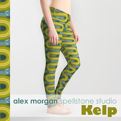 Kelp.apparel (Spellstone) Tags: ocean sea wallpaper seaweed clock home modern illustration design artist folkart pattern forrest drawing linen craft towel spot surfacedesign textile fabric cotton kelp blanket mug rug environment decal reef tote duvet throw giftwrap totebag 2016 bedset duvetcover fabricdesign alexmorgan spoonflower spellstone society6 fabriccollections