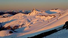 Positive/Positivo! (Esperando algo de nieve) (Pajaro Post) Tags: patagonia puntiagudo nieve atardecer positivo ice iceclimbing naranja snowwwwwwwwwwww sol sombras chile paraso