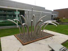 'Splash' Illarion Gallant (arrowlakelass) Tags: sculpture canada bc splash castlegar 2016 sculpturewalk p1050049 illariongallant