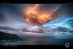Big Red (tomraven) Tags: sunset sea newzealand sky sun clouds coast nokia coastal wellington 1020 lumia tomraven aravenimage q22016