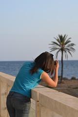 Follow the Palm (Mbarki Nader) Tags: friend beautiful shooting time palm trees palms island monastir tunisia tunisie tunisien tunisian nikon d3100 sigmalens sigma lens lover beach great weather