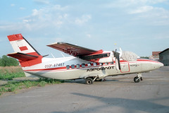 CCCP-67467 LET L-410UVP Turbolet Aeroflot (pslg05896) Tags: russia let aeroflot eie turbolet l410uvp yeniseysk unii cccp67467