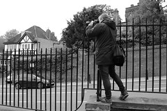 What We Do (phoebe.horner) Tags: park trees people white black colour tree monochrome fence landscape photography landscapes photo photographer view edited greenwich royal parks fences squirrell cutty sark