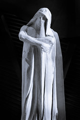 War Statue (Mike_Rocha) Tags: red statue model war ominous wwii plaster spooky ww2 musem solemn vimy