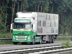Volvo FM from Hollander Holland (capelleaandenijssel) Tags: 64 bdj 7 greenery barendrecht dijco netherlands truck trailer lorry camion lkw