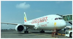 Ethiopian B-787 ET-ADV aka my next ride, Addis Ababa. (Ciaranchef's photography.) Tags: africa aviation airplanes boeing airliners dreamliner boeing787 airportphotography airportspotting ethopianairlines ethopianairlines787