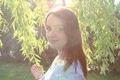I love us (Mathieu Rodriguez) Tags: portrait sun flower fleur grass soleil spring women power femme her parc printemps herbe