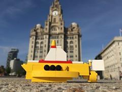 Yellow submarine (mattosborne325) Tags: liverpool lego submarine beatles
