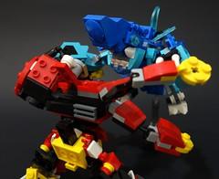 ctvskh04 (chubbybots) Tags: lego kaiju mech pacificrim mixels