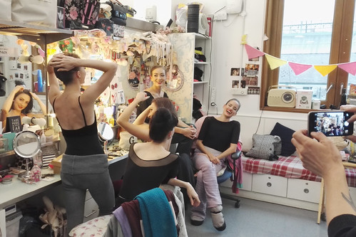 #BalletBeauty InstaMeet: Exclusive pictures inside the Royal Ballet dressing rooms