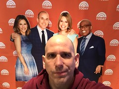 I hate it when the Today Show cast photobombs my picture (Hazboy) Tags: show new york city nyc ny rock nbc store center rockefeller today selfie hazboy hazboy1