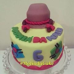 Ontem foi dia de ARRAIÁ!!! 🎂👸🎉🍰🎈🎀🍫 #molindacake #cakedesign #cakedecorating #cake #cakeart #sweet #bolocaipira #bolo #arraiajulino #bolomesversario #bolodemenina #6meses #candy #instacake (Molinda Cake) Tags: boss cake pasta americana bolo bolos confeitados molinda