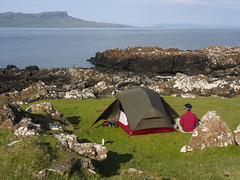 04_06_2016_1119 (andysuttonphotography) Tags: travel camping sea wild camp island islands coast scotland small scottish sunny tent shore land access law muck isle isles act hebrides reform eigg hebridean