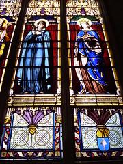 Magn (ChevillonW) Tags: colors stainedglass vitrail vidrieras stainedglasswindow vitraux stainedglasses vitrales vetrocolorato