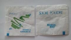 Srie Empreintes d'animaux - chamois 01 (periglycophile) Tags: france sugar series packet animaux say srie sucre sachet empreintes sucrology beghin priglycophilie