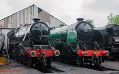 45305 and 777 Sir Lamiel (LMSlad) Tags: great central railway sir 777 loughborough maunsell lms 460 stanier 45305 lamiel