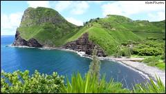 K Head(1) (NatePhotos) Tags: road sunset sea hawaii bay waterfall rainbow cows turtle maui hana jungle waterfalls kapalua rooster eel napili 2016 natephotos