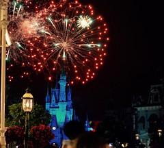 """Over The Castle"" (TimeKeeper57) Tags: outdoors mainstreet fireworks wishes waltdisneyworld magickingdom cinderellascastle"