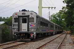 Three of a Kind (Adrian Corus) Tags: new car train 5 cab nj rail v transit jersey morristown comet njt 6022 njtr