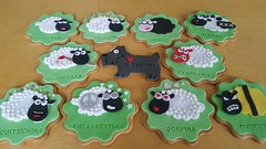 Sheperd Dog (adrianarosati) Tags: dog green icing biscuits vanilla sheperd adrianarosati