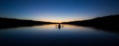 Sunset Kayaking (stokefactor) Tags: sunset summer lake nature water outside kayak outdoor lac peaceful wanderlust kayaking gatineau wildernessculture stokefactor