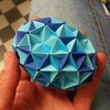 Knotology egg (Dasssa) Tags: paper origami egg dasa paperstrips knotology dasssa severova