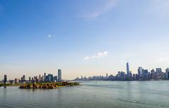 New York City (Anthony's Olympus Adventures) Tags: newyorkcity newyorkny newyorkharbor manhattan ellisisland libertyisland statueofliberty cityview cityscape city jerseycity hudsonriver landscape nyc skyline skyscraper thebigapple flickraward flickr