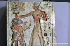 Ramses II smiting enemies (konde) Tags: memphis limestone bluecrown hieroglyphs ramsesii ancientegypt newkingdom 19thdynasty memfis