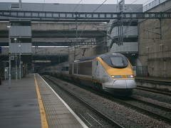 373206 @ Stratford International (ianjpoole) Tags: london st eurostar working bruxelles midi pancras 373206 373205 9i16